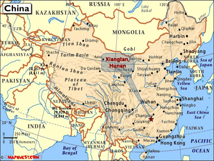 Xiangtan China  city photo : Who we are and Why we are in China